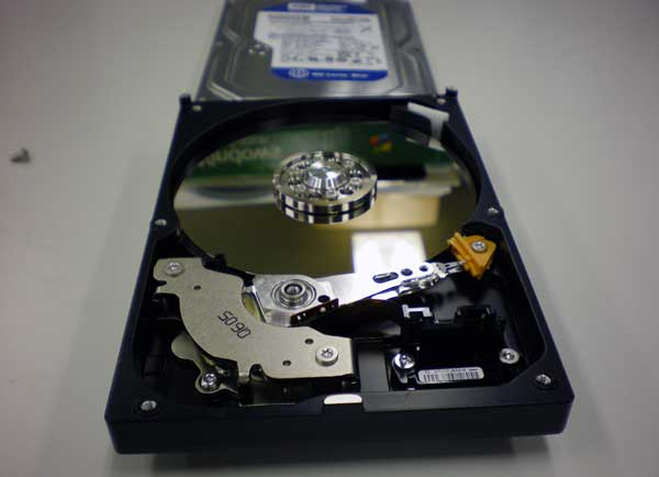 wd hdd wd5000aaks ファームウェア